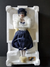 LIMITED EDITION GAY PARISIENNE 1959 BARBIE PORCELAIN TREASURE COLLECTION DOLL