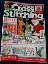 The World of Cross Stitching magazine issue 273  (Good condition) (No gift)