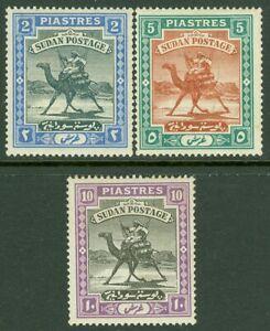EDW1949SELL : SUDAN 1898 Scott #14-16 Very Fine, Mint Original Gum. Catalog