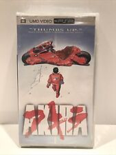 Akira 1988 Movie UMD (PSP, 2005) PlayStation Portable Anime NEW / SEALED