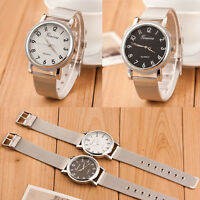Geneva Women's Fashion Watch Silver Stainless Steel Analog Quartz Wrist Watches