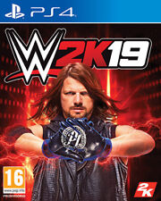 WWE 2K19 (Wrestling 2019) PS4 Playstation 4 TAKE TWO INTERACTIVE