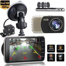 Dual Lens 1080P Car DVR Dash Cam Front&Rear Video Recorder Night Vision G-Sensor