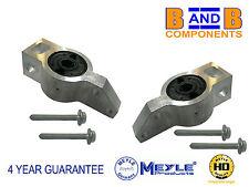 SKODA OCTAVIA MK2 1Z3 1Z5 FRONT CONTROL ARM WISHBONE BUSHES MEYLE HD PAIR A661