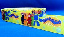 1 metre length of Teletubbies design Cake/Hair/craft ribbon @ MrsMario's
