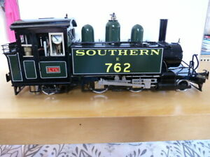 """ACCUCRAFT """"LYN"""" LIVE STEAM MODEL - SOUTHERN GREEN LIVERY - NEW AND UNUSED"""