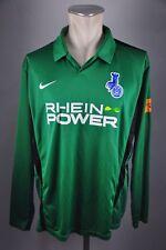 MSV Duisburg Trikot Gr. XL Rhein Power #4 langarm grün Jersey Nike 3rd Shirt