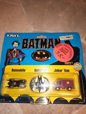 Batman 1989 Ertl Company USA Vintage Mini Cars toy 1/128 dc comics neu new micro