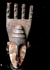 Outstanding African tribal Bambara Comb Figure Mask -- Mali