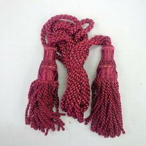 BURGUNDY Silk Cords