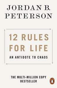 NEW 12 Rules for Life 2019 by Jordan B. Peterson Paperback Book | FREE SHIPPING
