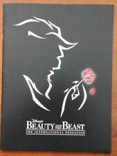 Beauty and the Beast Souvenir Brochure