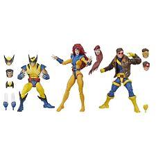 IN HAND!!! Marvel Legends X-MEN JEAN GREY + CYCLOPS + WOLVERINE 3-PACK LOOSE NEW