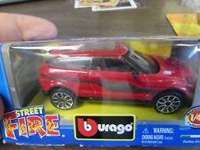 2010 BURAGO - TOY FAIR EDITION - STREET FIRE LAND ROVER LRX CONCEPT - RARE IN BO