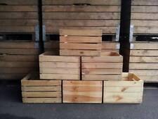 3er Paket Obstkisten in Natur  2.Wahl-Weinkisten-Apfelkisten-Holzkisten