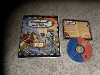 Conquest of the New World (PC, 1996) Game with manual