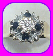 Cocktail Not Enhanced Natural Sapphire Fine Rings