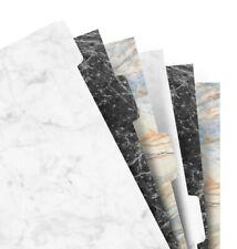 Filofax - Personal Marble 6 Blank tab Index Refill
