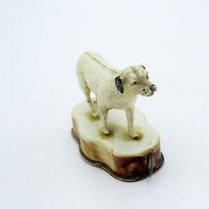 Antique Celluloid Dalmatian Dog Tape Measure, NR