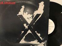 X – Los Angeles LP 1980 Slash – SR-104 VG/VG