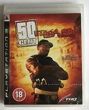 PS3 50 Cent Blood on the Sand (2009), UK Pal, Brand New & Factory Sealed