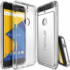 For Huawei Google Nexus 6P Case Ringke FUSION CLEAR Transparent Slim B