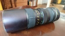 Vinson 482738 Auto Zoom 85-205mm  f/3.8  for Pentax M42 mount Built in Hood Case
