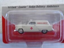 1:87 HO SCALE MINI METALS 1953 FORD SEDAN DELIVERY AMBULANCE