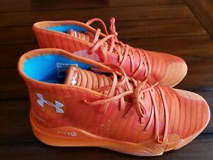 47.5 EU red Under Armour Herren 3023917-600/_47,5 Basketball Shoes