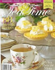 Tea Time Magazine MAY JUNE Issue 2015 Brand New!!!