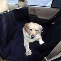 Pet Hammock Dog Cat Universal Back Seat Protector Car Cover Black