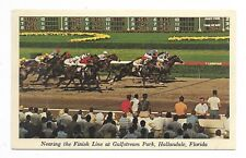 HALLANDALE, FLORIDA Horse Racing at Gulfstream Park Circa 1984