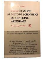 Introduzione ai metodi scientifici di gestione aziendale - Giovanni De Angelis