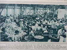 1916 GAS MASK FACTORY PRODUCTION LINE; FRENCH CENTRAL MILITARY FARM WWI WW1