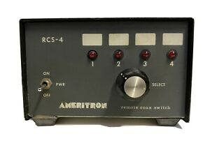 Ameritron RCS-4  remote switch