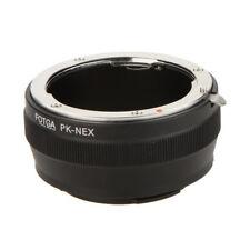 Fotga PK-NEX Adapter Digital Ring for Pentax PK K Mount Lens to Sony NEX E- G2H3