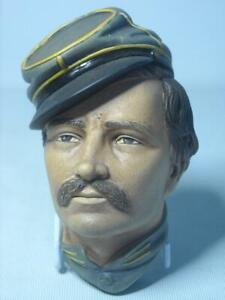 Bossons INFANTRY OFFICER American Civil War 6 Photos Chalkware Head Plaque