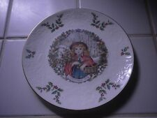 Vintage Royal Doulton Christmas Plate 1978 2nd in Series Bone China