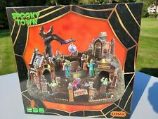 2019 Lemax Spooky Town Graveyard Party Lighted Halloween Tabletop Decor Gift