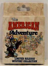 Disney The American Adventure Mystery Box Collection Unopen Sealed 2 Pin LE NEW
