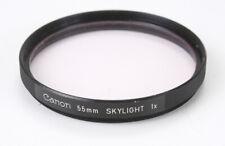 CANON 55MM SKYLIGHT FILTER/186721