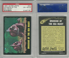 1964 Bubbles Inc, Outer Limits, #18 Invasion of the Sea Beast, PSA 6 EXMT