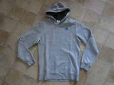 Mens ADIDAS Grey Hoodie Hooded Jumper Size S Small GREAT CONDITION