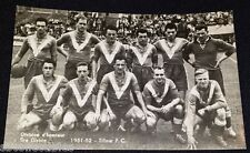 1951/52 - SOCCER - TILLEUR F.C. - TEAM PHOTO - POSTCARD - BELGIUM CHEWING GUM