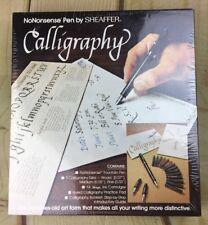Vintage No Nonsense Sheaffer Fountain Pen Calligraphy Kit Nibs  Ink Cartridges