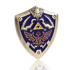 The Legend of Zelda Minish Cap Gold Shield Pin Badge