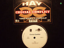 "CRUCIAL CONFLICT - HAY / SHOWDOWN (12"")  1996!!!  RARE!!!  WILDSTYLE!!!"