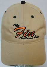 FIN FEATHER FUR OUTFITTER Ashland Ohio DEER HUNTING OUTDOORS ADVERTISING HAT CAP