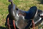 """Miles City 14"""" Collector/Vintage Western Saddle #099"""