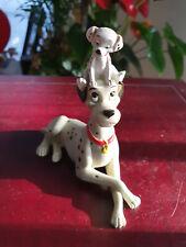 Extremely Rare! Walt Disney 101 Dalmatians Playing Figurine Statue